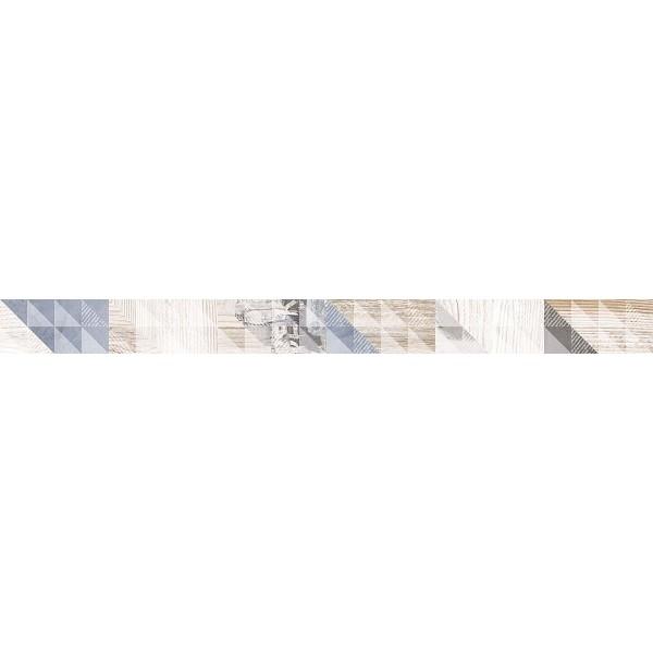Керамический бордюр Lasselsberger Ceramics Вестанвинд серый 1506-0024 5х60 см стоимость