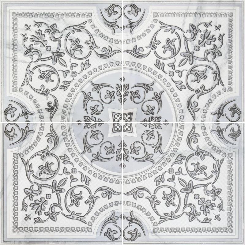 Керамическое панно Lasselsberger Ceramics Бьянка Каррара белое 3609-0006 90х90 см стоимость