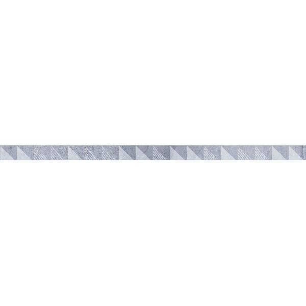 Керамический бордюр Lasselsberger Ceramics Вестанвинд голубой 1506-0023 3х60 см