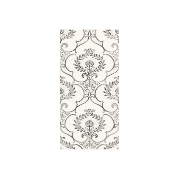Керамический декор Lasselsberger Ceramics Мадейра 1 белый 1641-0064 19,8х39,8 см