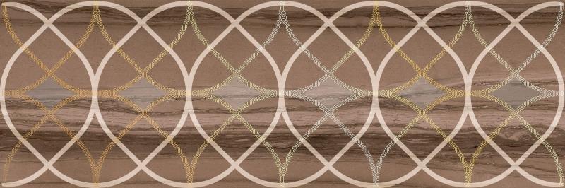 Керамический декор Lasselsberger Ceramics Модерн Марбл 2 темный 1664-0007 20х60 см