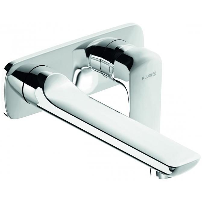 Смеситель для раковины Kludi Ameo 412450575 Хром смеситель на борт ванны kludi ameo 414480575 хром