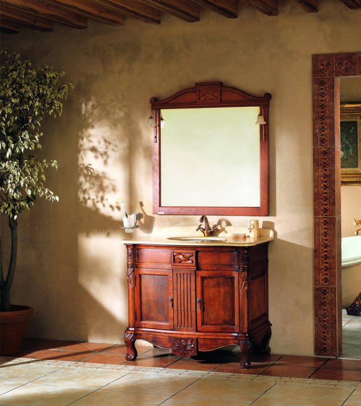 GM 10-10 коричневыйМебель для ванной<br>Мебель для ванной комнаты Godi GM 10-10. В комплектацию входят: тумба, раковина, столешница, зеркало.<br>