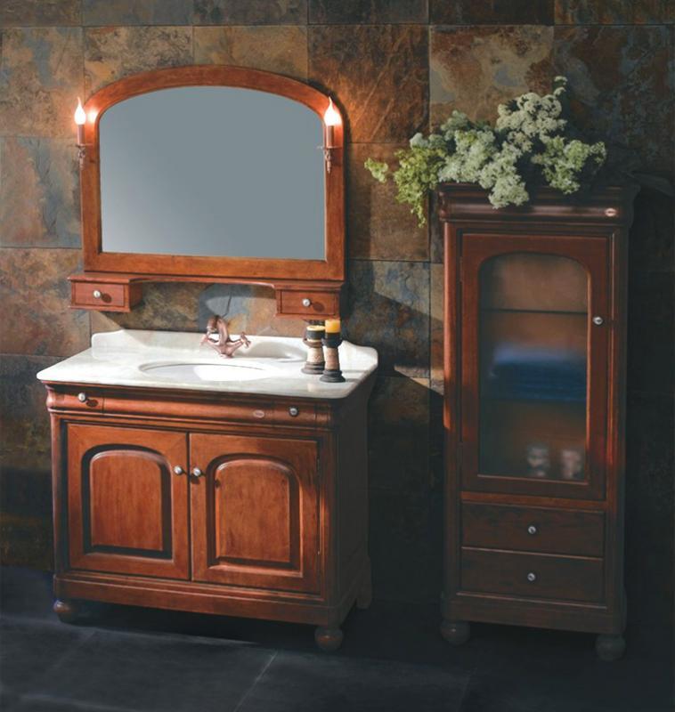 GM 10-15 коричневыйМебель для ванной<br>Мебель для ванной комнаты Godi GM 10-15. В комплектацию входят: тумба, раковина, столешница, зеркало. Комплект можно дополнить пеналом Godi GM 10-23.<br>