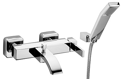 Смеситель для ванны Bugnatese Inside 9202 CR (хром) смеситель на борт ванны bugnatese inside 9255q cr хром