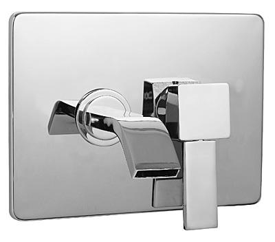 Смеситель для ванны Bugnatese Inside 9245 CR (хром) смеситель на борт ванны bugnatese inside 9255q cr хром