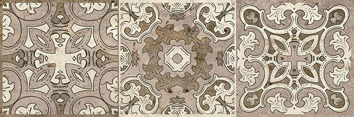 Керамический декор Lasselsberger Ceramics Травертино 3606-0016/3064-0004 19,9х60,3 см