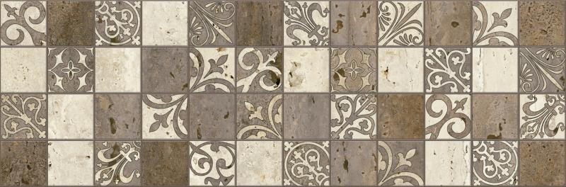 Керамический декор Lasselsberger Ceramics Травертино 3606-0017 / 3064-0002 19,9х60,3 см