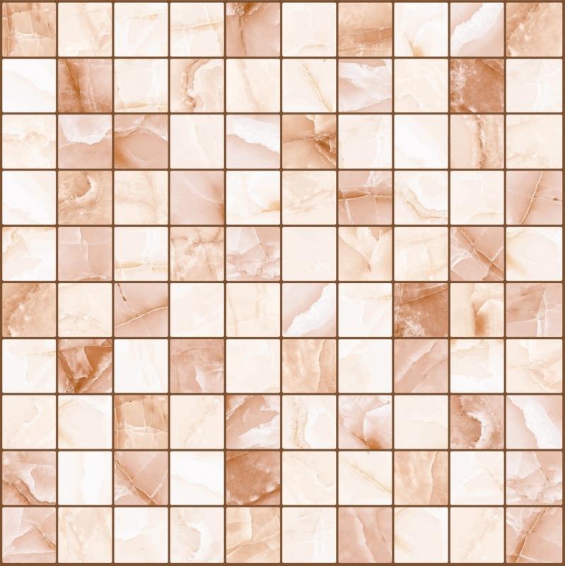 цена на Керамическая мозаика Lasselsberger Ceramics Орнелла коричневая 5032-0201 30х30 см