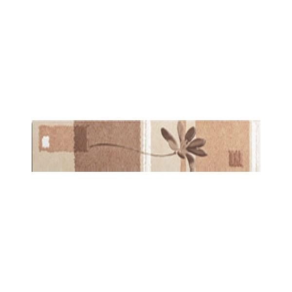 Керамический бордюр Lasselsberger Ceramics Эдем цветы вертикальный 1504-0078 9х39,8 см