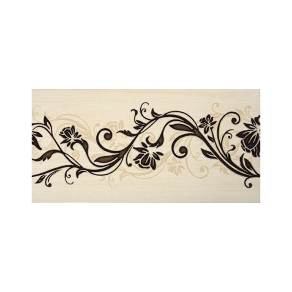 Керамический декор Lasselsberger Ceramics Эдем Кураж 2 1641-0055 19,8х39,8 см