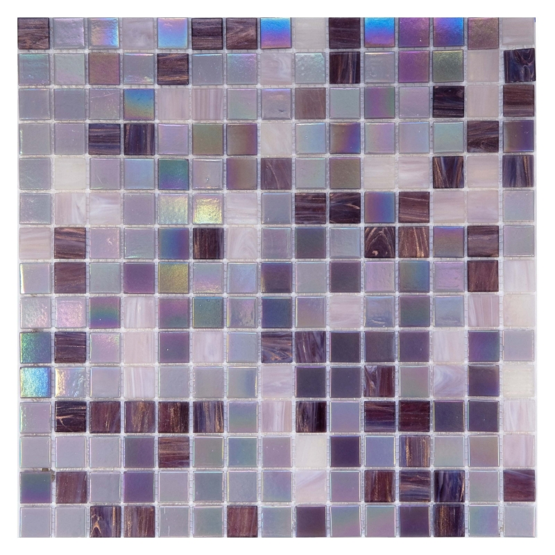 Стеклянная мозаика Orro Mosaic Classic Sweet Purple V-3231 32,7х32,7 см