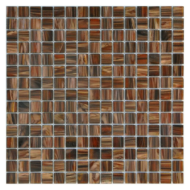Стеклянная мозаика Orro Mosaic Classic Sable Wood GB43 32,7х32,7 см