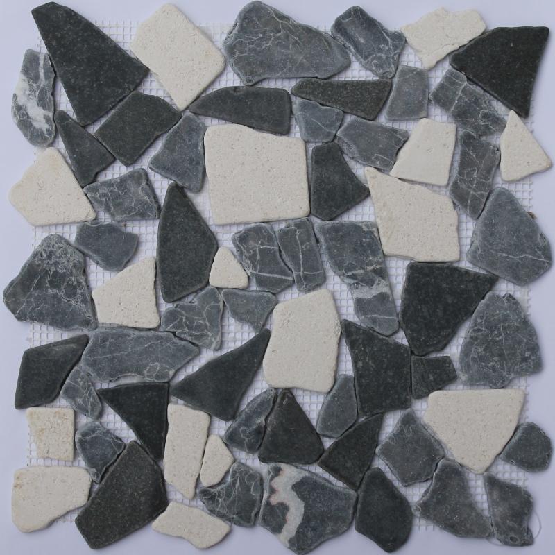 Каменная мозаика Orro Mosaic Stone Anticato Gray 30,5х30,5 см каменная мозаика orro mosaic stone rovena green 25х33 5 см