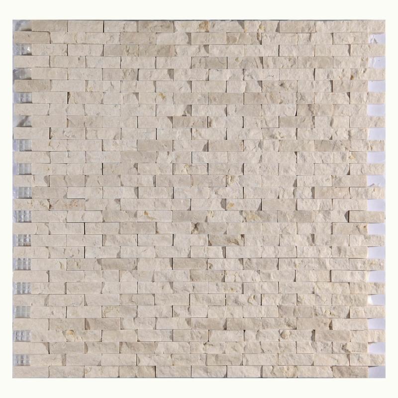 Каменная мозаика Orro Mosaic Stone Split Galala 30,5х30,5 см каменная мозаика orro mosaic stone rovena green 25х33 5 см