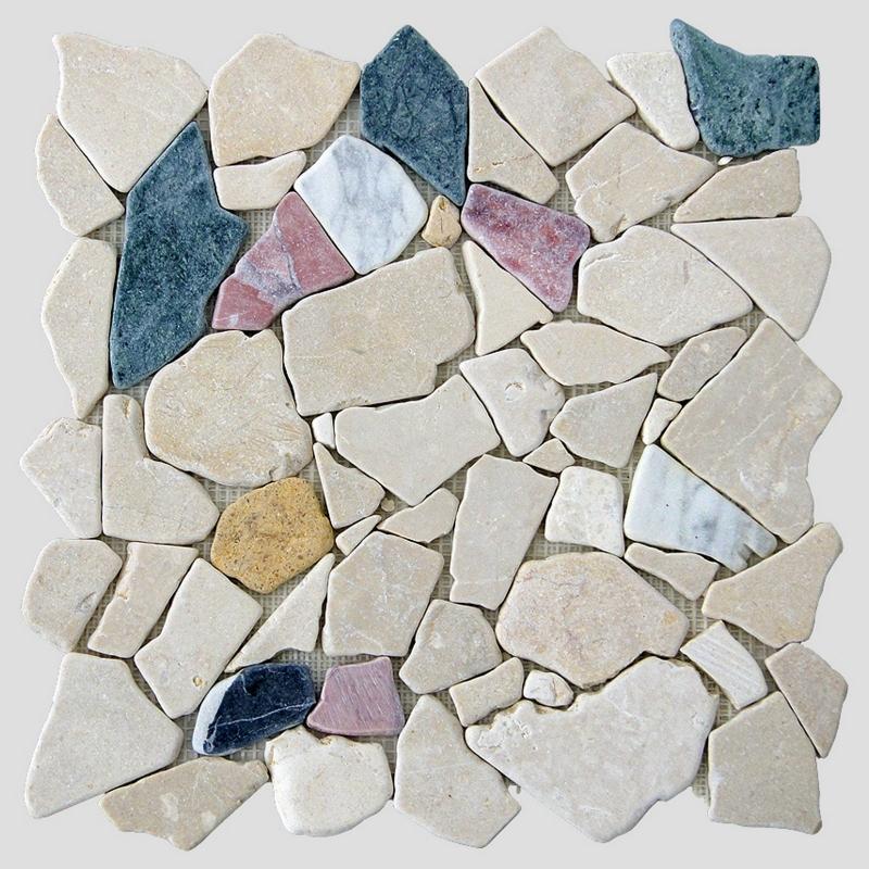 Каменная мозаика Orro Mosaic Stone Anticato Mix 30,5х30,5 см каменная мозаика orro mosaic stone rovena green 25х33 5 см