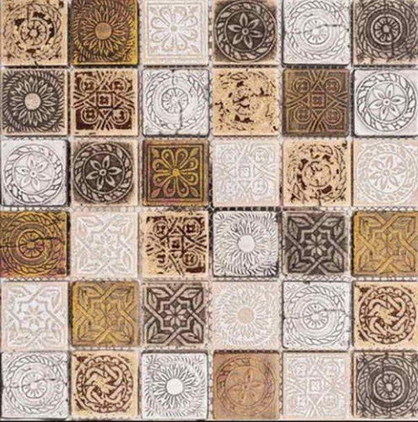 Каменная мозаика Orro Mosaic Stone Iliada Bronze 30х30 см каменная мозаика orro mosaic stone rovena green 25х33 5 см