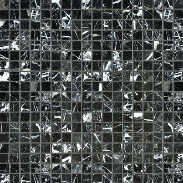 Каменная мозаика Orro Mosaic Stone Nero Marquina Pol. 4мм 30,5х30,5 см каменная мозаика orro mosaic stone rovena green 25х33 5 см