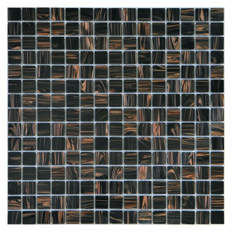 Купить Стеклянная мозаика, Classic Sable Black GC45 32, 7х32, 7 см, Orro Mosaic, Китай