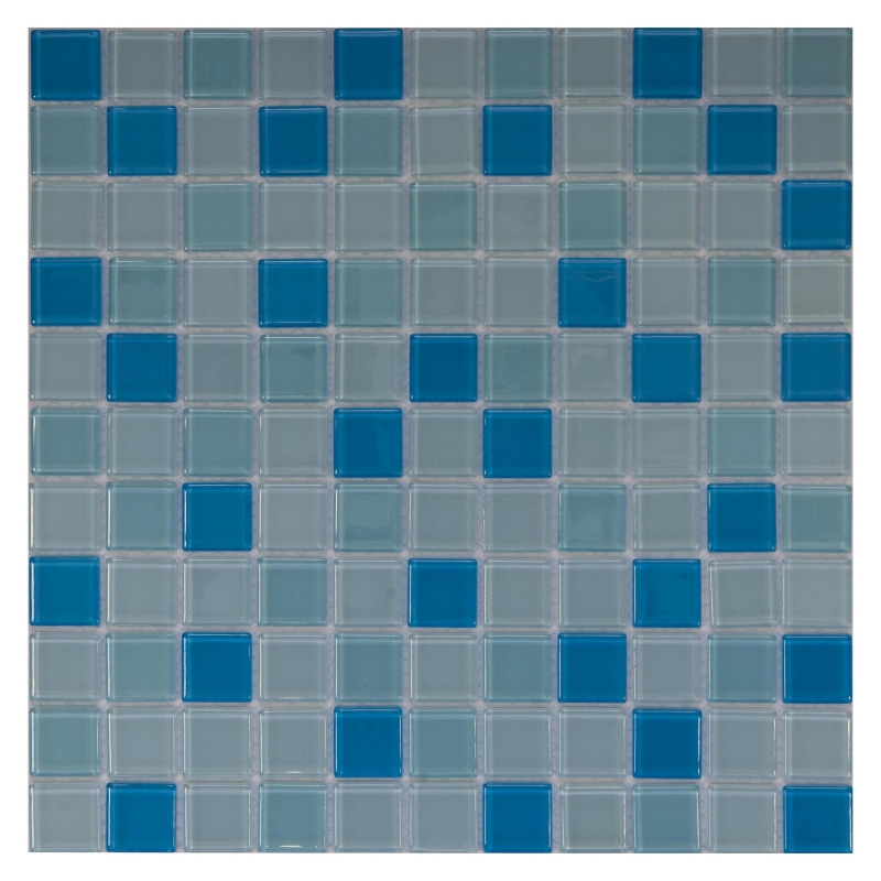 Стеклянная мозаика Orro Mosaic Cristal Fresh Water 29,5х29,5 см стеклянная мозаика orro mosaic cristal aquifer 4 мм 29 5х29 5 см