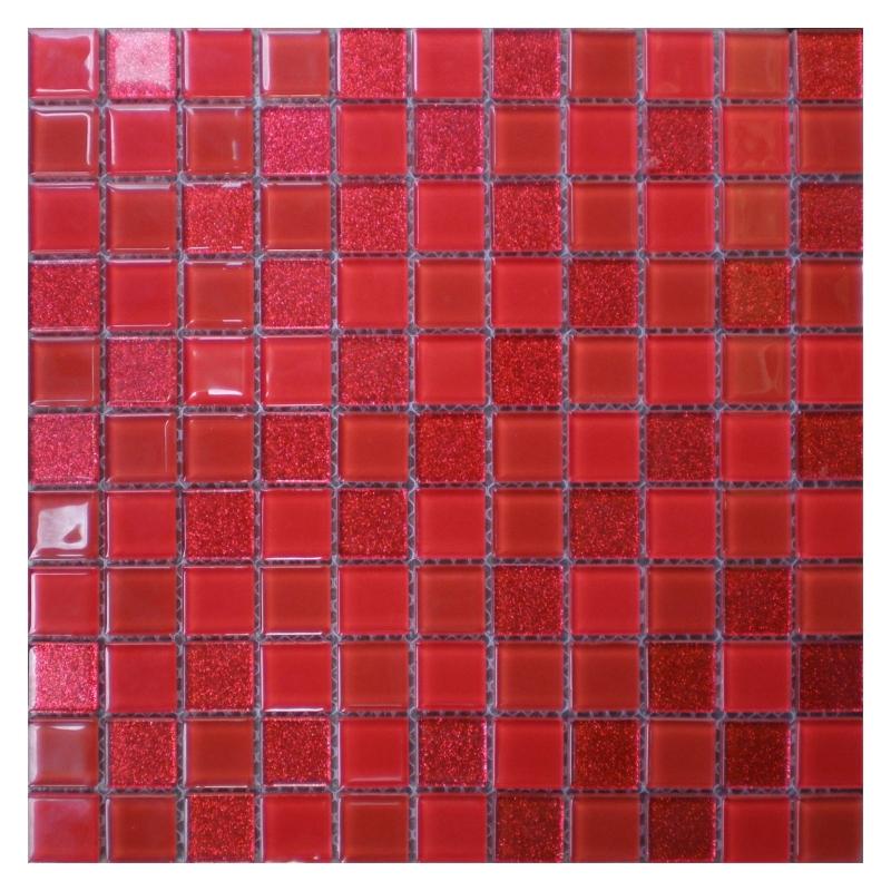Стеклянная мозаика Orro Mosaic Cristal Fire 29,5х29,5 см стеклянная мозаика orro mosaic cristal silver night 29 5х29 5 см