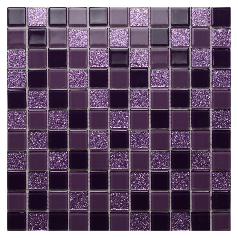 Стеклянная мозаика Orro Mosaic Cristal Violine 29,5х29,5 см стеклянная мозаика orro mosaic cristal silver night 29 5х29 5 см