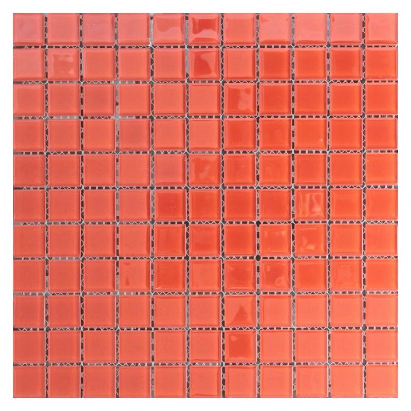 Стеклянная мозаика Orro Mosaic Cristal Red Rose 29,5х29,5 см