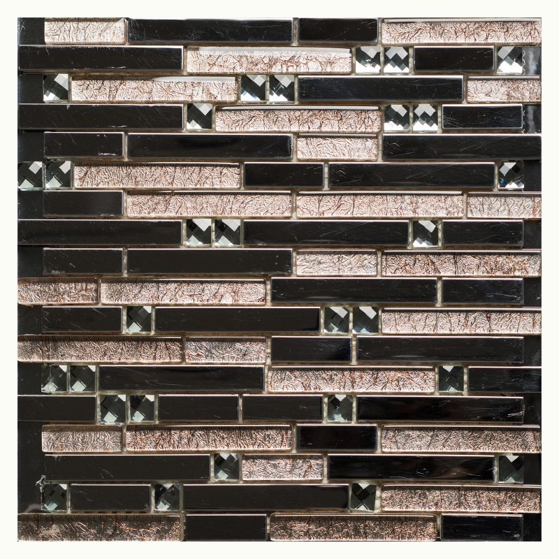 Стеклянная мозаика Orro Mosaic Glass Smokey Beige 30х30 см