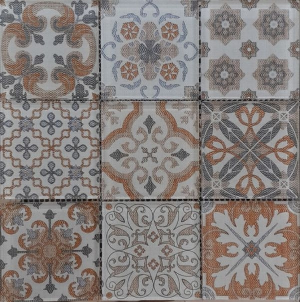 цена Стеклянная мозаика Orro Mosaic Glass Coin Beige 30х30 см онлайн в 2017 году