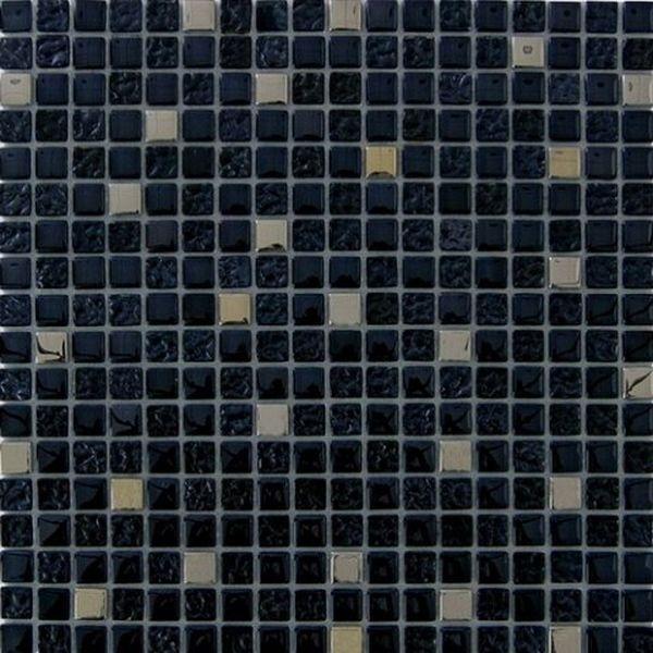 Фото - Стеклянная мозаика Orro Mosaic Glass Antracit 30х30 см мозаика orro mosaic lava gold каменная 30х30 см