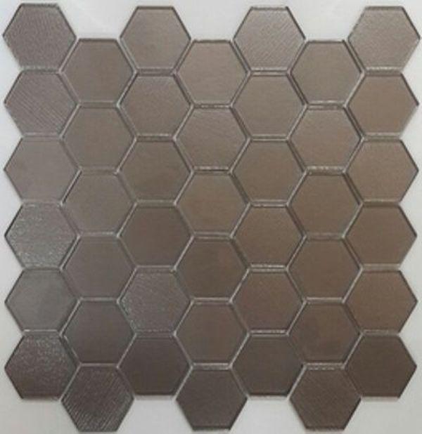 Стеклянная мозаика Orro Mosaic Glass Omega Brown 29,5х30 см