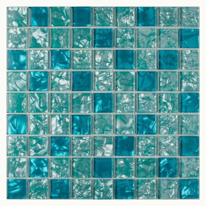 цена Стеклянная мозаика Orro Mosaic Glass Lazurit 29х29 см онлайн в 2017 году