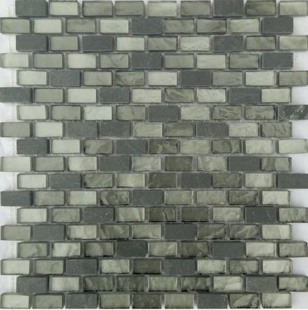 Мозаика Orro Mosaic Glasstone Loft Gray стекло+камень 29,4х30,7 см мозаика orro mosaic glasstone arabica стекло камень 30х30 см