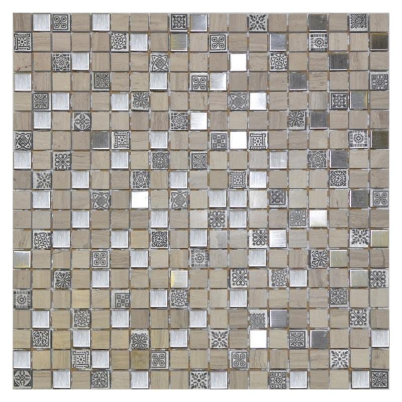 Купить Мозаика, Glasstone Metall Talisman стекло+камень 31х31 см, Orro Mosaic, Китай