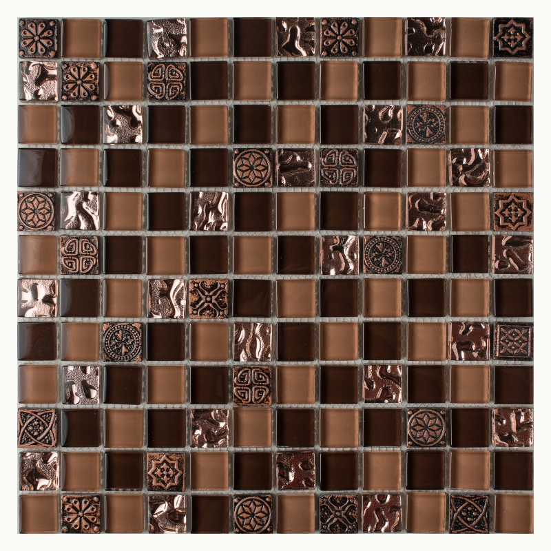 Мозаика Orro Mosaic Glasstone Ankara стекло+камень 29,5х29,5 см