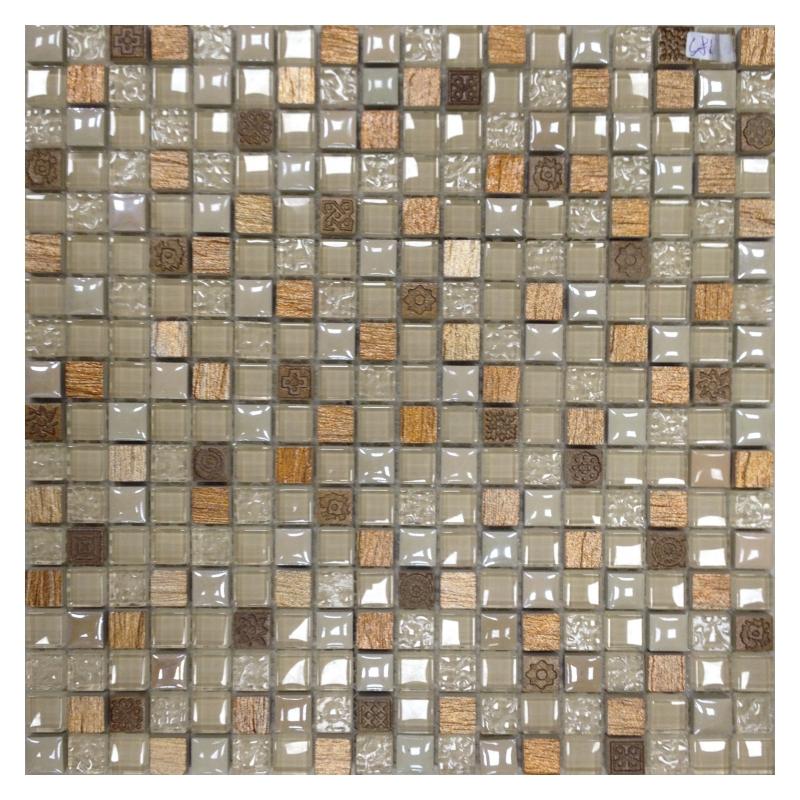 Мозаика Orro Mosaic Glasstone Lavada Beige стекло+камень 30х30 см мозаика orro mosaic glasstone decan стекло камень 30х30 см
