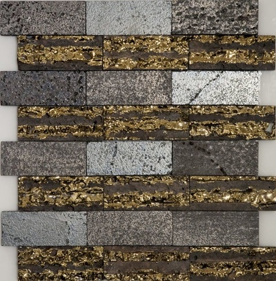 Фото - Мозаика Orro Mosaic Lava Stripe каменная 30х30 см мозаика orro mosaic lava gold каменная 30х30 см