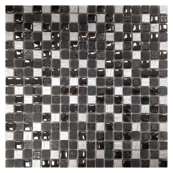 Фото - Мозаика Orro Mosaic Lava Black каменная 30х30 см мозаика orro mosaic lava gold каменная 30х30 см