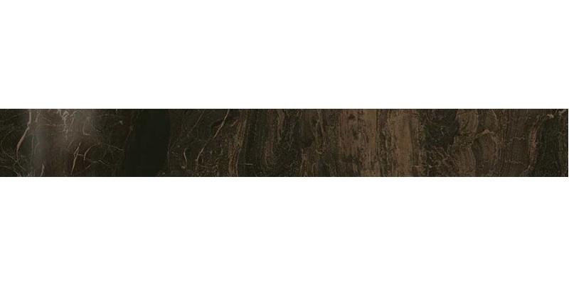 Керамический бордюр Atlas Concorde Russia Supernova Marble Frappuccino Dark Listello Lap 610090001130 7,3х59 см бордюр atlas concorde russia vesta dorato greca 7x25