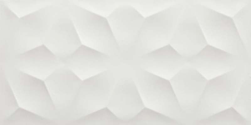 Керамическая плитка Atlas Concorde 3D Wall Diamond White Matt. настенная 40х80 см