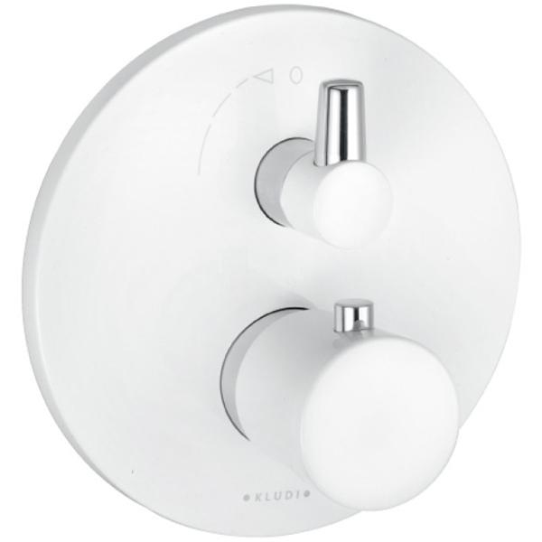 Купить Смеситель для душа, Balance 528359175 с термостатом Белый Хром, Kludi, Германия
