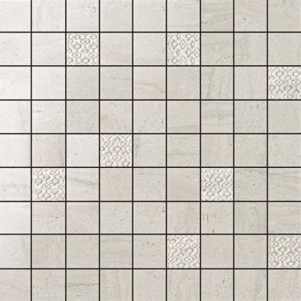 Керамическая мозаика Atlas Concorde Russia Suprema Silver Mosaic 600110000054 30х30 см декор керамический atlas concorde suprema cameo 85х85 мм