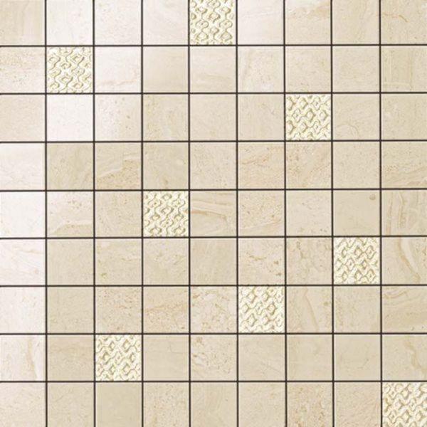 Керамическая мозаика Atlas Concorde Russia Suprema Ivory Mosaic 600110000053 30х30 см декор керамический atlas concorde suprema cameo 85х85 мм