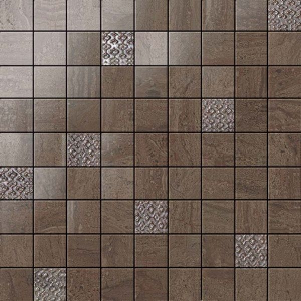 Керамическая мозаика Atlas Concorde Russia Suprema Bronze Mosaic 600110000055 30х30 см декор керамический atlas concorde suprema cameo 85х85 мм