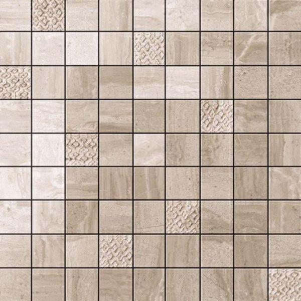 Керамическая мозаика Atlas Concorde Russia Suprema Walnut Mosaic 600110000057 30х30 см декор керамический atlas concorde suprema cameo 85х85 мм