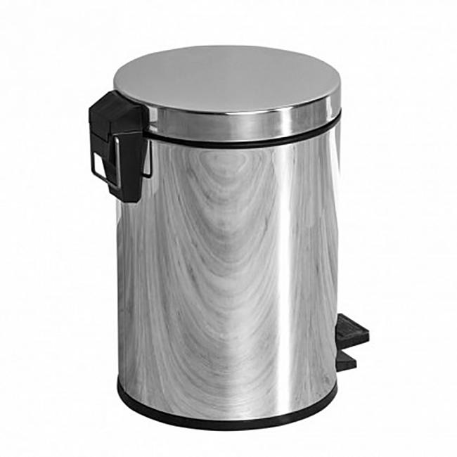 Ведро мусорное Aquanet 8074 Хром цена