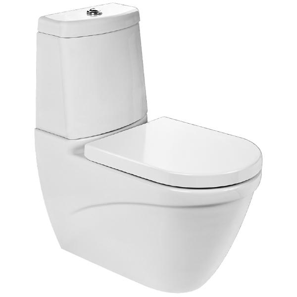 купить Унитаз Bocchi Taormina 1017 Белый глянцевый по цене 12168 рублей