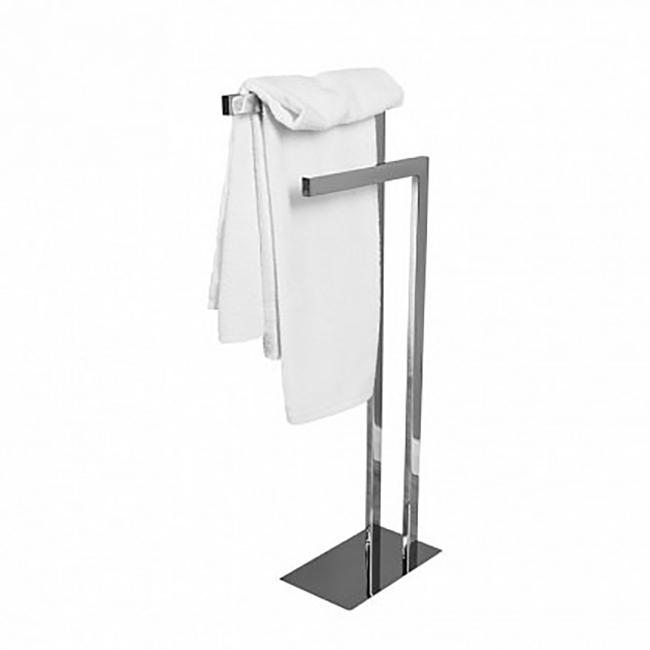 8216 ХромАксессуары для ванной<br> Стойка напольная комбинированная Акванет 8216 00187089 выполнена из хромированной латуни.  Такая стойка очень удобна в использовании, так как его можно установить в любом месте. И нет никакой необходимости делать отверстия в стене для того, чтобы установить настенный держатель. <br><br> <br> Размер (ШВГ): 15 х 79.5 х 36.7 см <br><br><br>Комплект поставки: стойка.<br>
