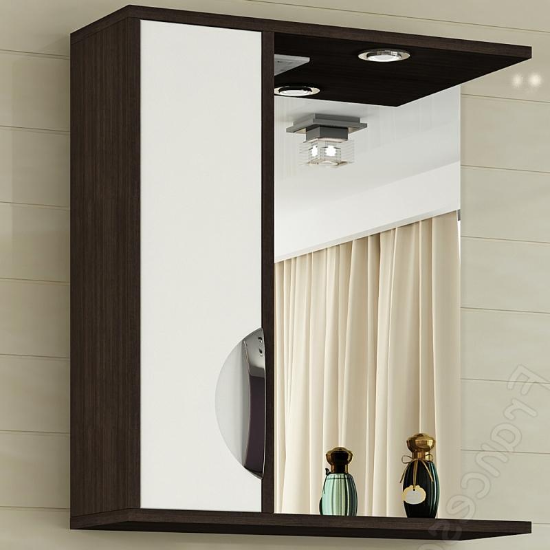 Зеркальный шкаф Francesca Версаль 60 - фото
