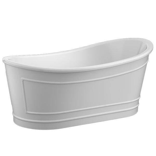 Купить Акриловая ванна, BB32 168х90 Белая, BelBagno, Италия